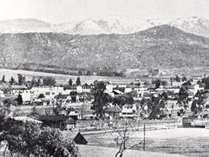 Escondido City circa 1910