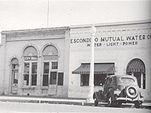 History Of Water Supply Development City Of Escondido