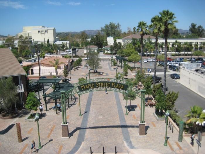 Maple Street Plaza City Of Escondido