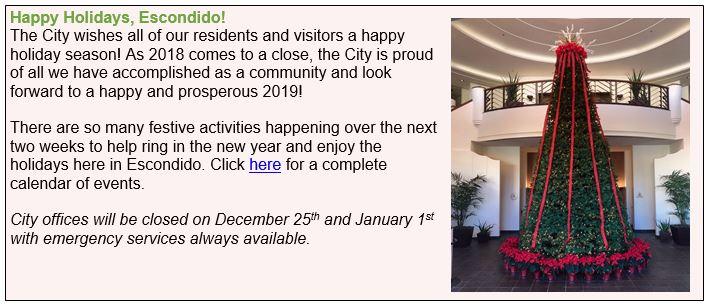 Christmas Light Fight 2019.December 20 2018 City Of Escondido