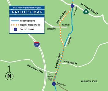 Bear Valley map