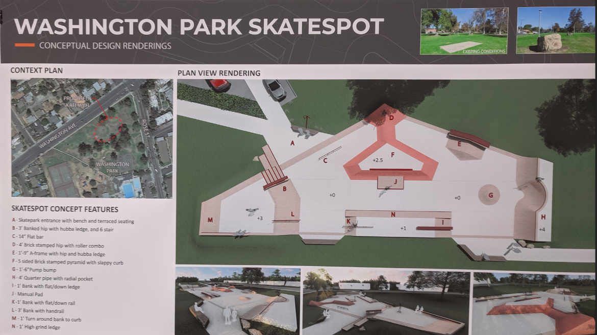 Skate spot rendering resulting from community feedback