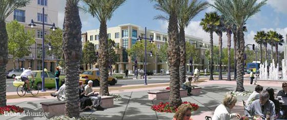 Escondido Transit Center, SANDAG Smart Growth Visualization